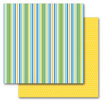 Queen and Company - Summer Collection - 12 x 12 Double Sided Paper - Summer Stars