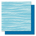 Queen and Company - Summer Fun Collection - 12 x 12 Double Sided Paper - Fun Waves