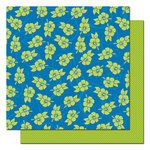 Queen and Company - Summer Fun Collection - 12 x 12 Double Sided Paper - Hibiscus