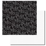 Queen and Company - Formal Collection - 12 x 12 Double Sided Paper - Flourish