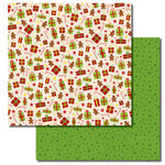 Queen and Company - Christmas Collection - 12 x 12 Double Sided Paper - Goodies