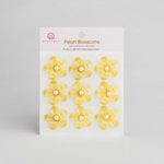 Queen and Company - Self Adhesive Pearl Blossoms - Yellow