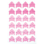 Queen and Company - Perfect Party Collection - Photo Corners - Pink