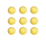 Queen and Company - Candy Shoppe Collection - Pom Poms - Lemon Drop