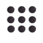 Queen and Company - Candy Shoppe Collection - Pom Poms - Licorice