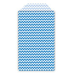 Queen and Company - Perfect Party Collection - Decorative Bags - Chevron - Blueberry Bliss