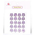 Queen and Company - Flower Pave - Purple