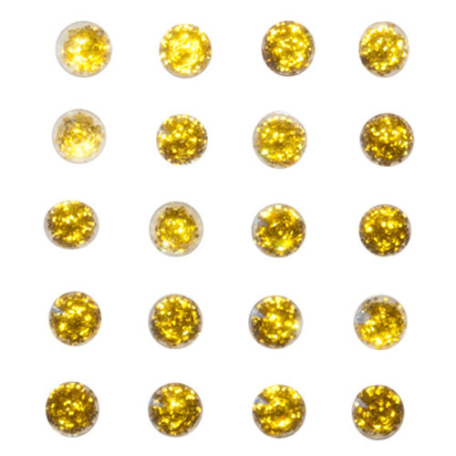 Queen and Company - Bling - Self Adhesive Stones - Sunflower Yellow