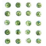 Queen and Company - Bling - Self Adhesive Stones - Grass Green