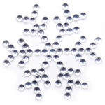 Queen and Company - Bling - Self Adhesive Rhinestones - Snowflake - Clear