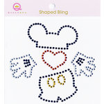 Queen and Company - Magic Collection - Bling - Self Adhesive Rhinestones - Boy Motif