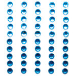 Queen and Company - Bling - Self Adhesive Rhinestone Duos - Blues