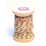 Queen and Company - Summer Collection - Twine Spool - Green Orange and White