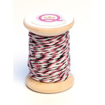 Queen and Company - Twine Spool - Queen - Pink Black and White