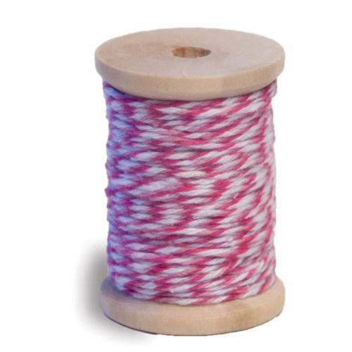 Queen and Company - Twine Spool - Pinks