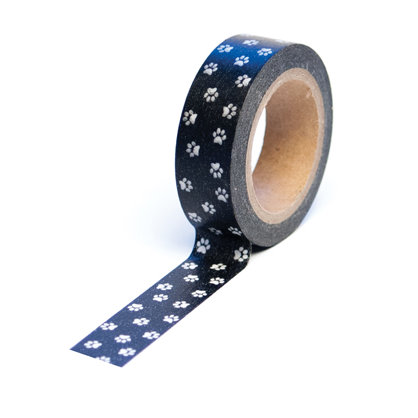 Queen and Company - Pets Collection - Trendy Tape - Paw Print