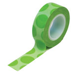 Queen and Company - Trendy Tape - Mega Dot Green