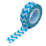 Queen and Company - Trendy Tape - Chevron Blue