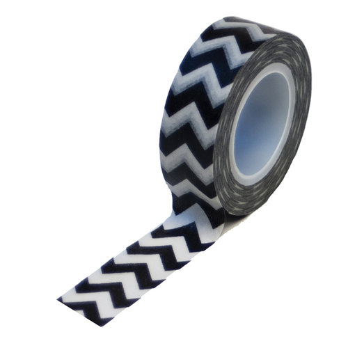 Queen and Company - Trendy Tape - Chevron Black