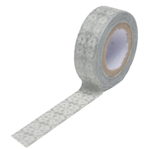 Queen and Company - Trendy Tape - Grey Motif