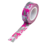 Queen and Company - Trendy Tape - Camouflage Pink