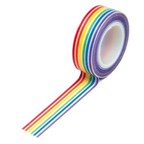 Queen and Company - Trendy Tape - Rainbow Stripes
