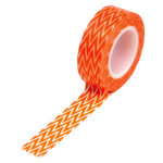 Queen and Company - Trendy Tape - Chevron Orange