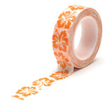 Queen and Company - Trendy Tape - Hibiscus Orange