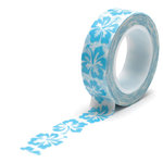 Queen and Company - Trendy Tape - Hibiscus Blue
