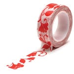 Queen and Company - Trendy Tape - Flower Swirl Red