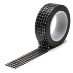 Queen and Company - Trendy Tape - Grid Black