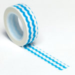 Queen and Company - Trendy Tape - Waves Blue