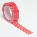 Queen and Company - Trendy Tape - Mesh Red