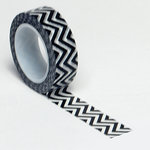 Queen and Company - Trendy Tape - Small Chevron Black