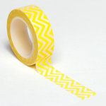 Queen and Company - Trendy Tape - Small Chevron Yellow