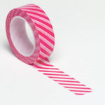 Queen and Company - Trendy Tape - Diagonal Stripe Pink