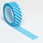 Queen and Company - Trendy Tape - Diagonal Stripe Blue