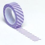 Queen and Company - Trendy Tape - Diagonal Stripe Purple