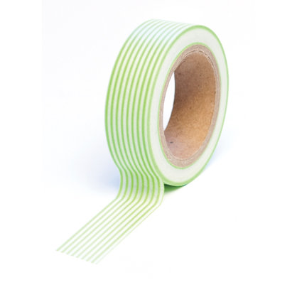 Queen and Company - Trendy Tape - Stripes Green