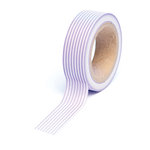 Queen and Company - Trendy Tape - Stripes Purple