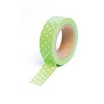 Queen and Company - Trendy Tape - Polka Dot Green