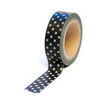Queen and Company - Trendy Tape - Polka Dot Black