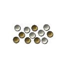 Queen and Company - Ultra Mini Brads - Metallic