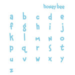 QuicKutz - Classic Essential Alphabet Die Set - Unicase Honey Bee, CLEARANCE