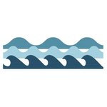 Lifestyle Crafts - Cookie Cutter Dies - Wave Edges