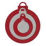 Lifestyle Crafts - Christmas - Die Cutting Template - Nesting Ornaments