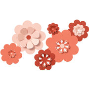 QuicKutz - Cookie Cutter Dies - Nesting Flowers