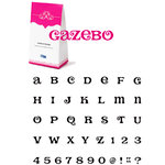 QuicKutz - Cookie Cutter Dies - Mini Unicase Alphabet Set - Gazebo, CLEARANCE
