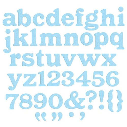 Lifestyle Crafts - QuicKutz - Die Cutting Template - Alphabet - Parade