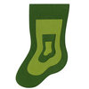 Lifestyle Crafts - Christmas - Die Cutting Template - Nesting Stockings